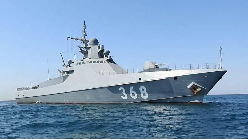 흑해 함대는 순찰선과 구조선으로 보충되었습니다.