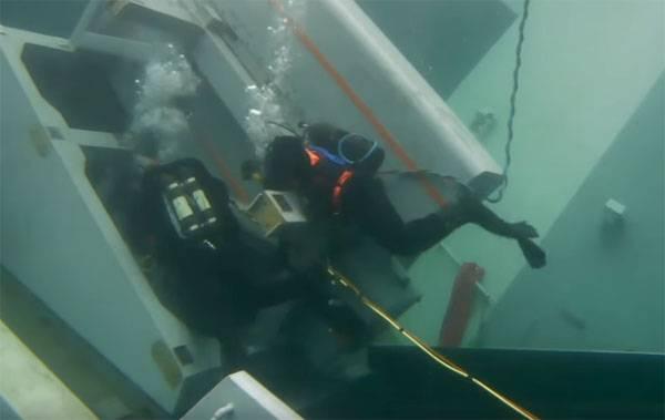 Les Norvégiens ont montré la frégate coulée de l'intérieur et ont annoncé le début de l'ascension