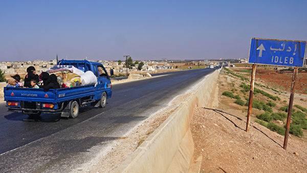 """시리아 """"삶의 길""""- 아부 - 듀크 후 (Abu-Dukhur)의 인도주의 회랑"""