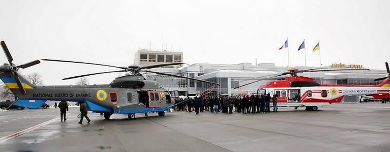 L'Ukraine a reçu les deux premiers hélicoptères Airbus Н225