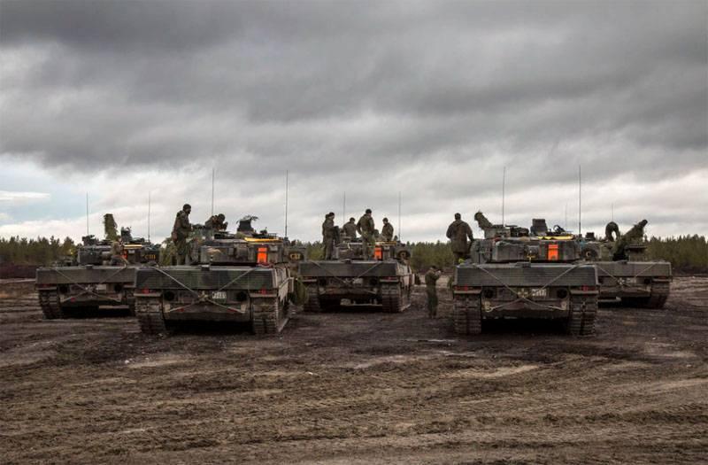 रूसी सशस्त्र बल पूर्वी यूरोप में नाटो सेना को तोड़ सकते हैं - रिपोर्ट से अटलांटिक काउंसिल तक