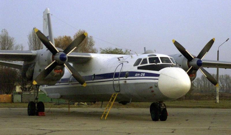 콩고 민주 공화국에서 An-26화물 비행기 추락