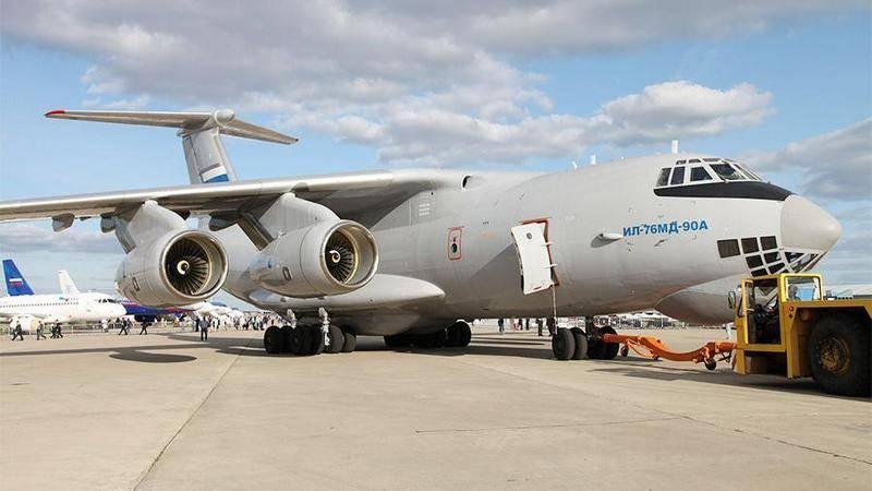 初飛行は10番目の近代化されたIL-76MD-90Aを作りました