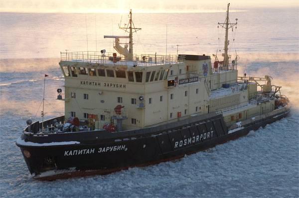 러시아 연방에서는 북극에서의 케르 치 사건의 반복 가능성에 대해 논평했다.