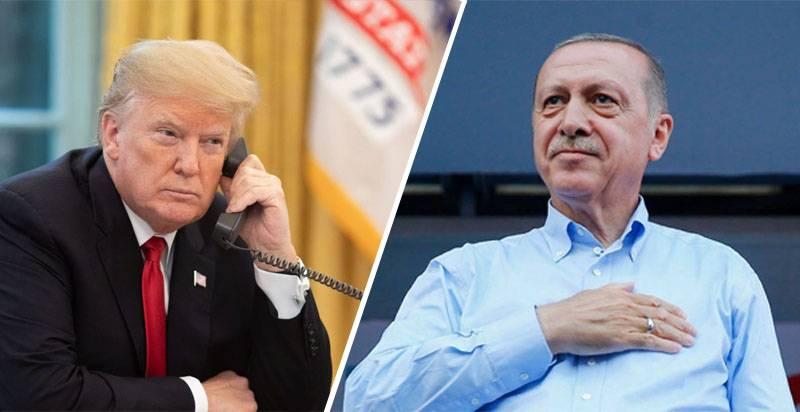 """अमेरिकी मीडिया: ट्रम्प ने एर्दोगन को बताया कि """"सीरिया आपकी है"""""""