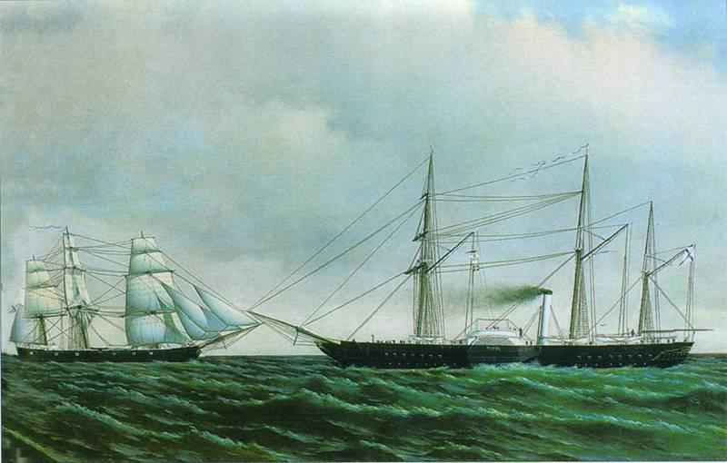 造船所は61共同体にちなんで名付けられました。 クリミア戦争後の造船の衰退