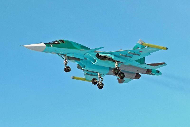 Le plan de fourniture de Su-34 aux forces aérospatiales russes est achevé;