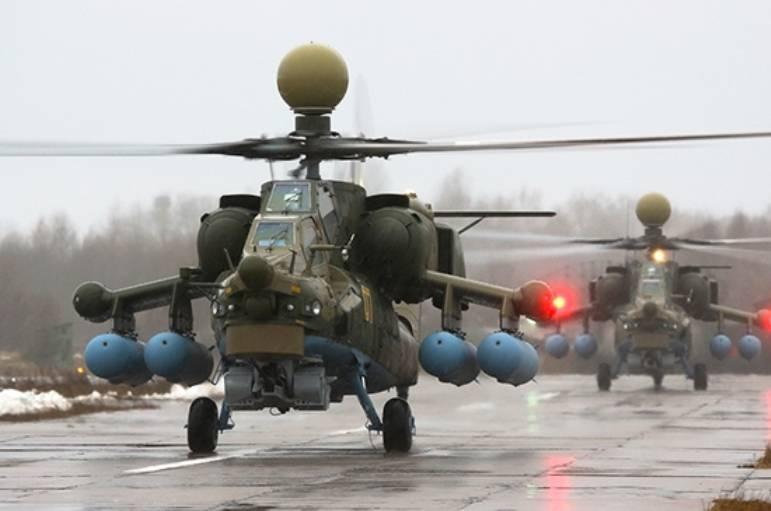 Negli Stati Uniti ha apprezzato la modernizzazione del russo Mi-28