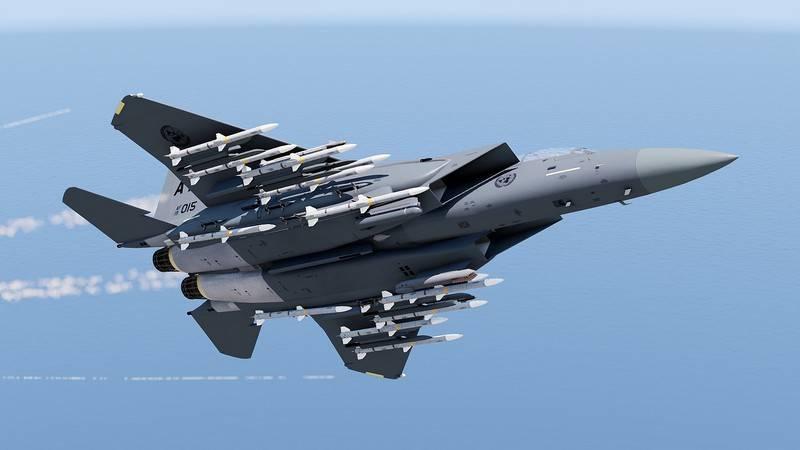 अमेरिकी वायु सेना की योजना F-15X फाइटर जेट के नवीनतम संस्करण के एक बैच को खरीदने की है