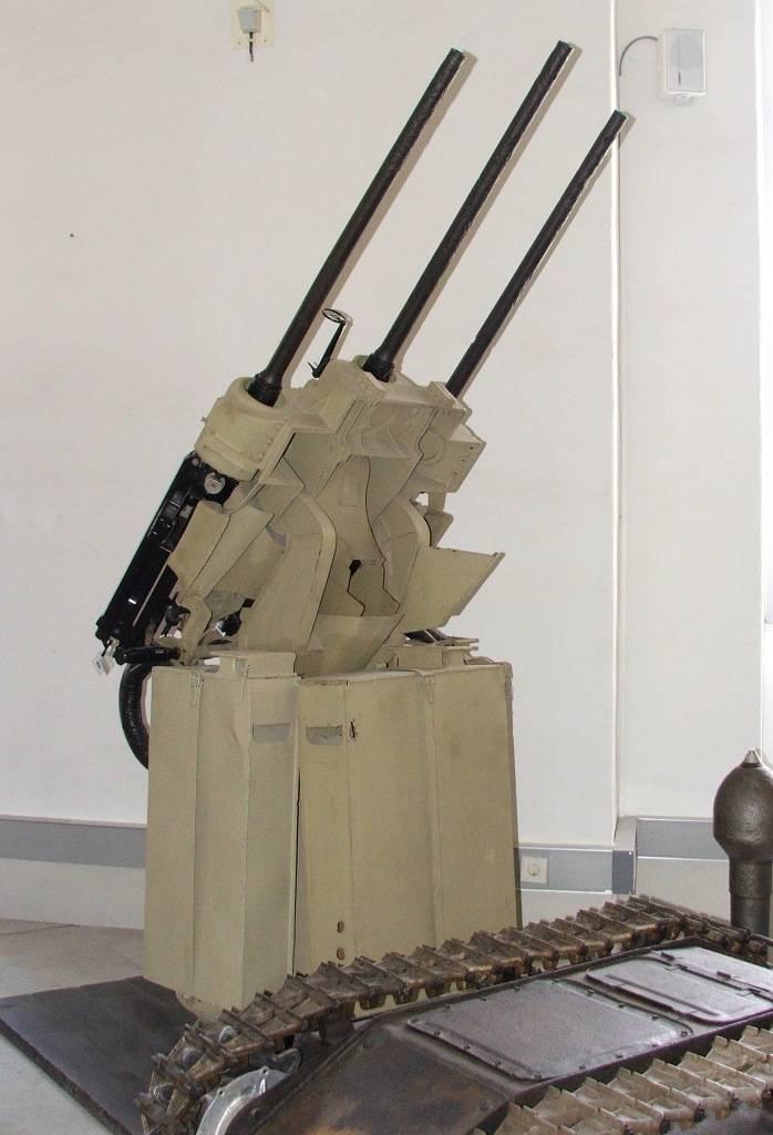 Немецкие малокалиберные зенитные установки против советской авиации (часть 5)