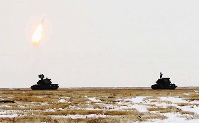 """Les calculs de """"Tor-M2U"""" ont permis d'effectuer des tirs dans la région d'Astrakhan"""