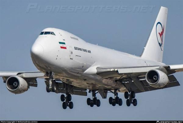 En Israel: el ataque se llevó a cabo después de aterrizar en Damasco a bordo de Irán