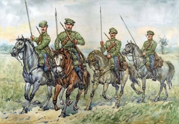Cavalleria strategica bianca. Reid Mamontov e combatti con lui. H. 2