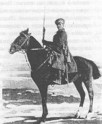 Cavalerie stratégique blanche. Reid Mamontov et se battre avec lui. H. 3