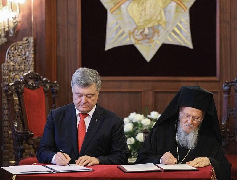 Los medios de comunicación ucranianos publican hechos de la interferencia estadounidense en los asuntos de la iglesia.