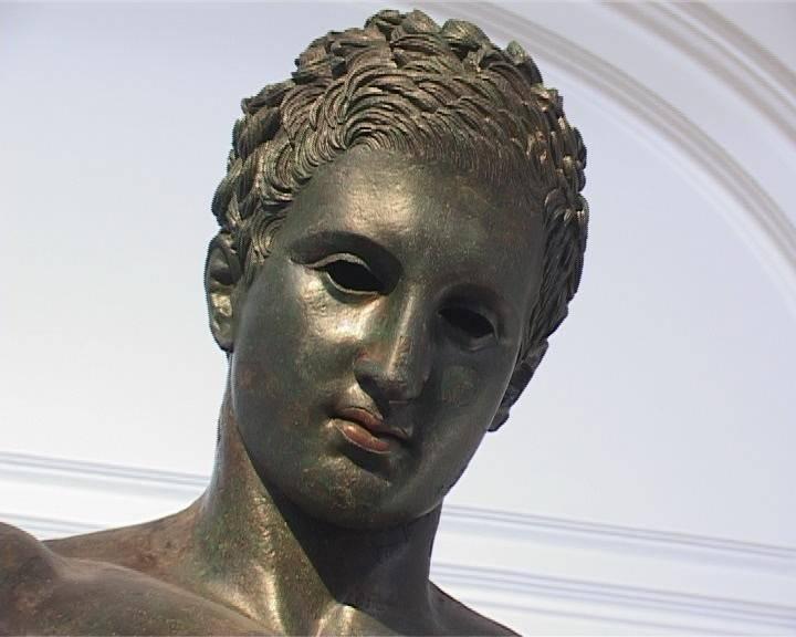 Apoxiomen croato dall'acqua. Civiltà antiche. H. 2