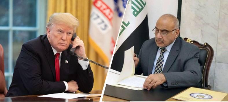A mezzogiorno: Baghdad afferma che Trump viola la sovranità irachena