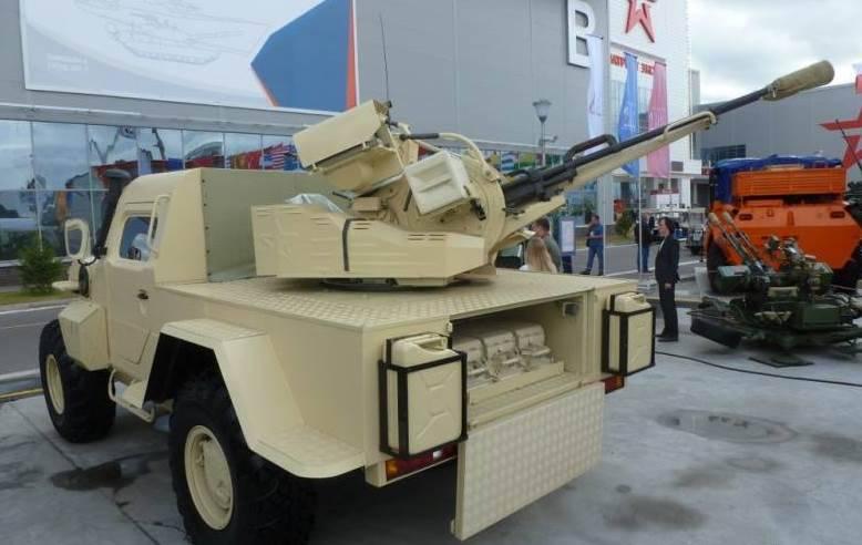 러시아 연방에서는 무인 전투를위한 전투 모듈을 만듭니다.