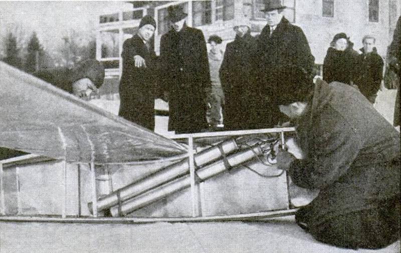 Fred W. Kessler의 Mail Rocket Plane (미국)