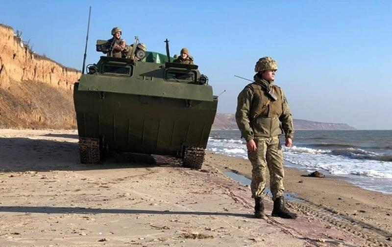 Киев усилил азовскую группировку и возвёл фортификационные укрепления