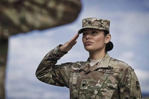 주말 허구 : 미 육군 여성