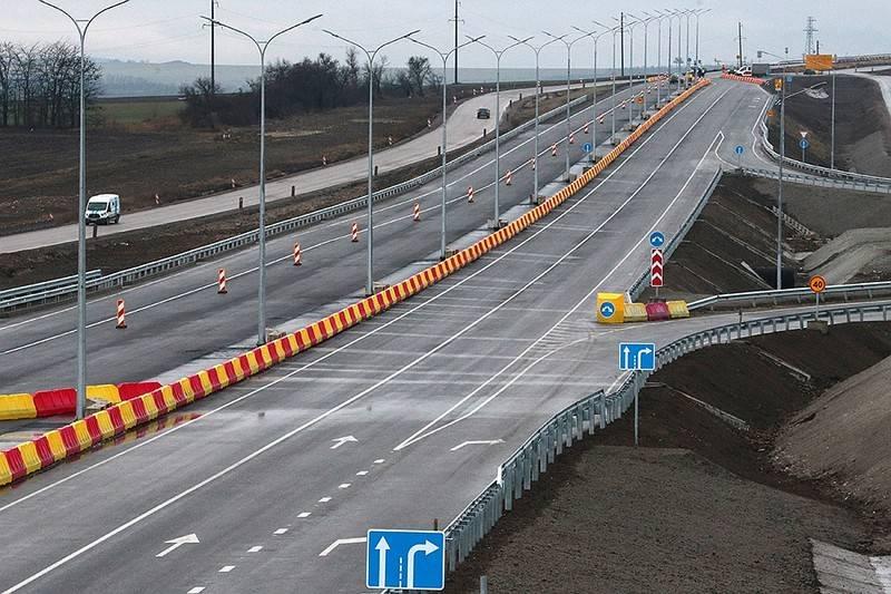 La prima sezione dell'autostrada Tavrida è stata aperta in Crimea