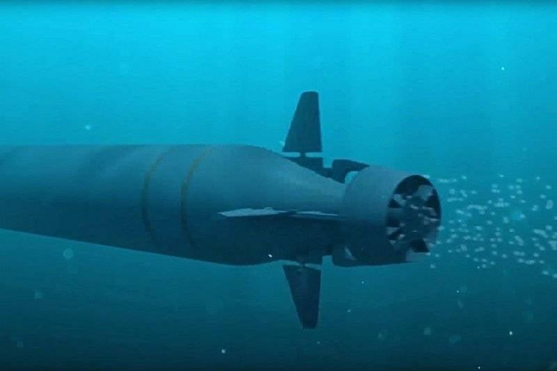 """En el oeste, llamado el dron nuclear """"Poseidon"""" máquina """"Doomsday"""""""
