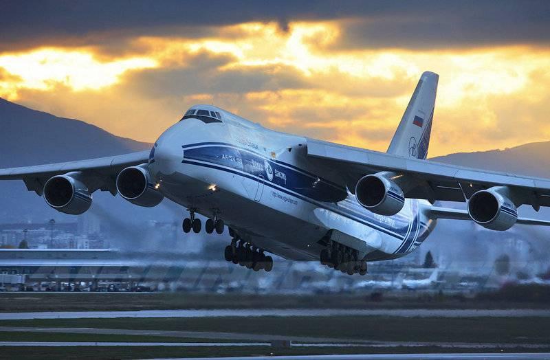 """PJSC """"IL"""" comenzó a crear un avión súper pesado para reemplazar el An-124"""