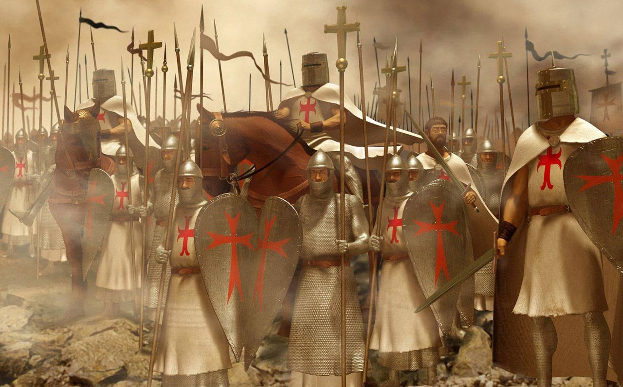 картинки тамплиеры крестовый поход этого