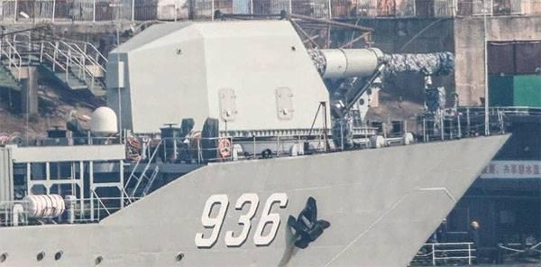 Le réseau a annoncé l'essai du navire de la Chine avec un canon électromagnétique