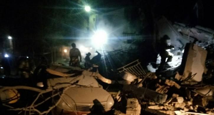 In Magnitogorsk è crollato il palazzo d'ingresso
