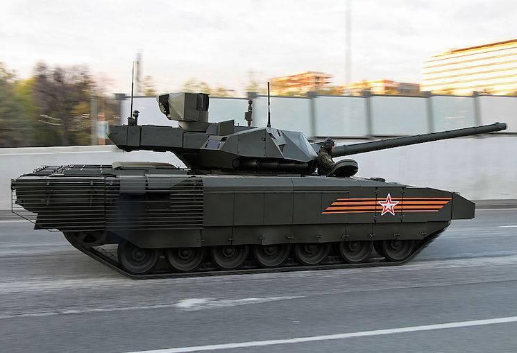 Le ministère de la Défense a parlé des projets de tests de l'état du char T-14 Armata