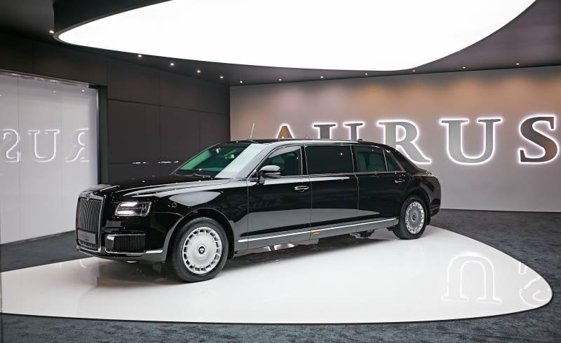 Автомобили Aurus. С точки зрения техники