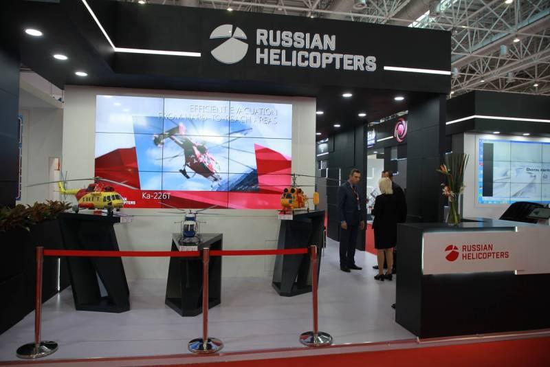 Глава «Вертолётов России» подтвердил разработку перспективной машины