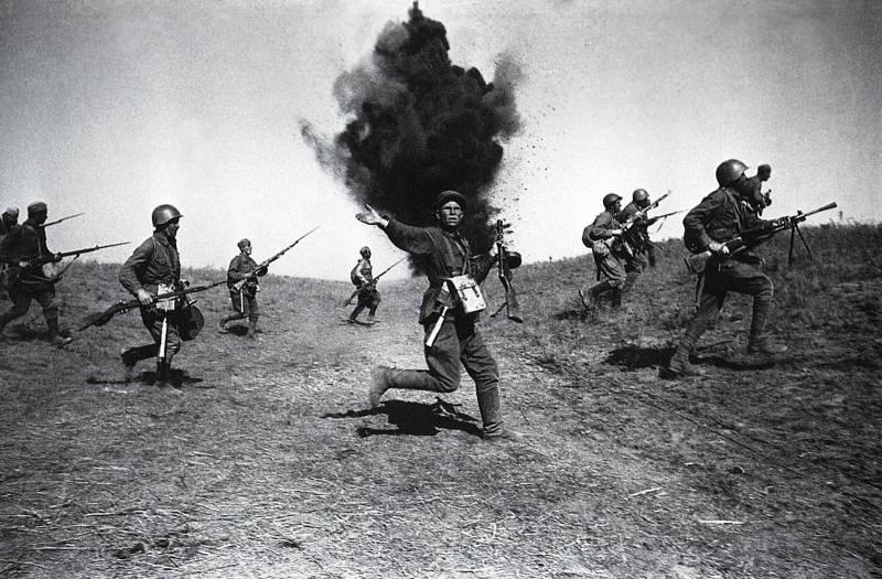 Штык. Страшное оружие русского солдата