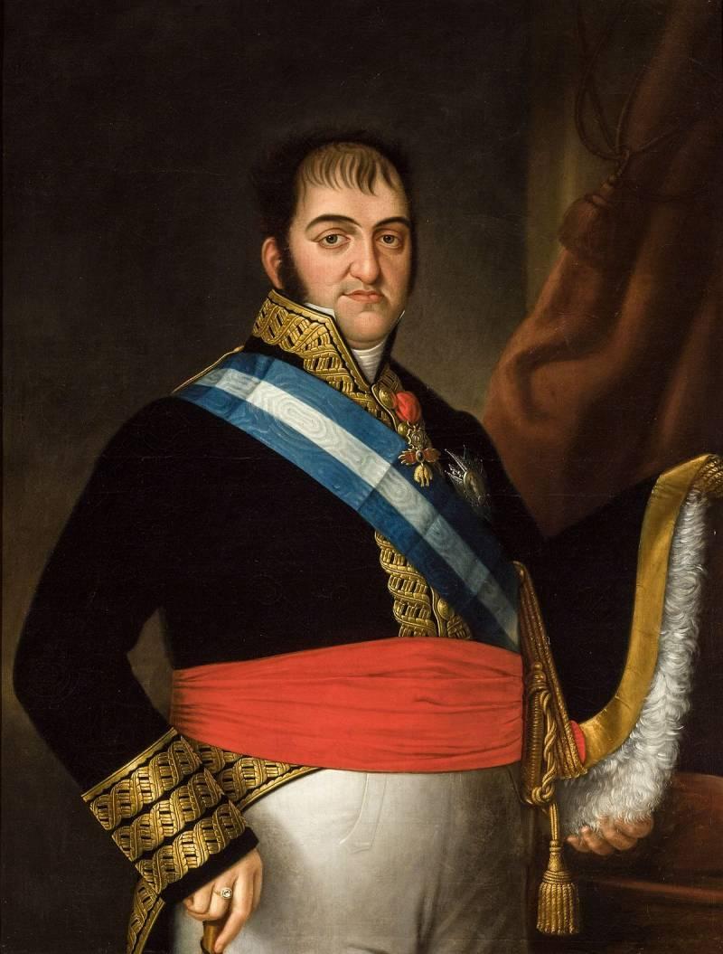 Фердинанд VII Бурбон, король Испании, в 1814 г. попытавшийся возродить инквизицию