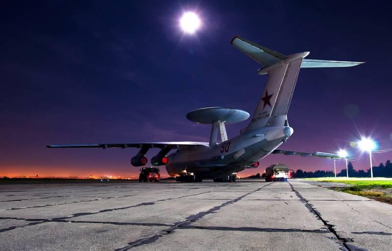 Самолёт ДРЛОиУ А-50 переброшен в Саки. К какому сценарию готовятся ВКС России?