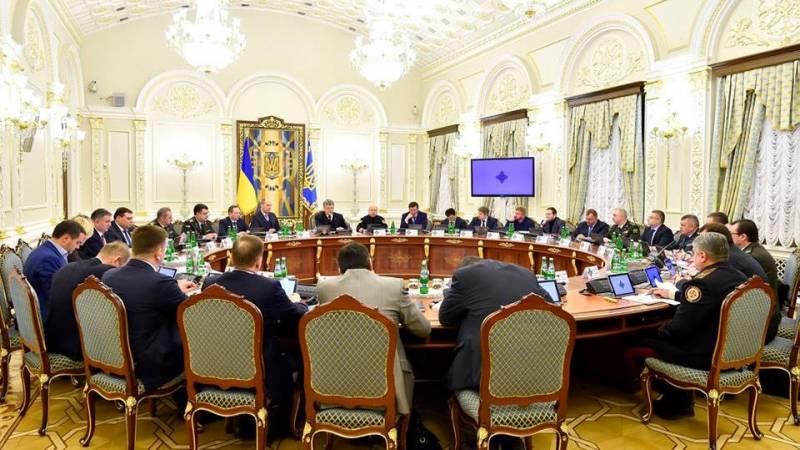 СНБО утвердил новые антироссийские санкции
