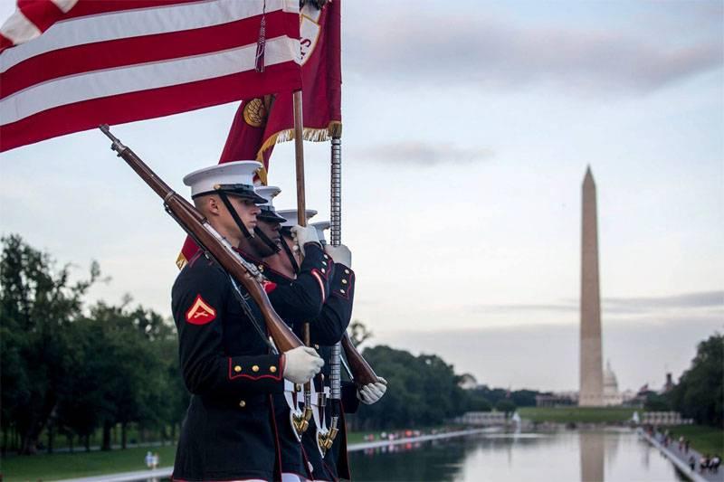 Un soldat d'élite du Corps des marines abattu à Washington DC