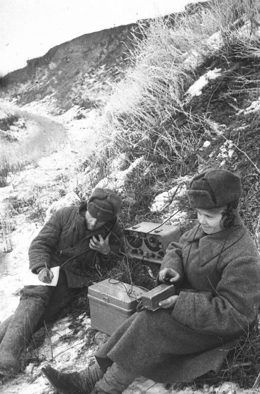 ソビエト連邦の暗号化サービス。 「彼らは無線通信を好まない...」6の一部