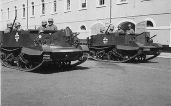 Another Lend-Lease. Light multipurpose armored personnel carrier Universal Carrier
