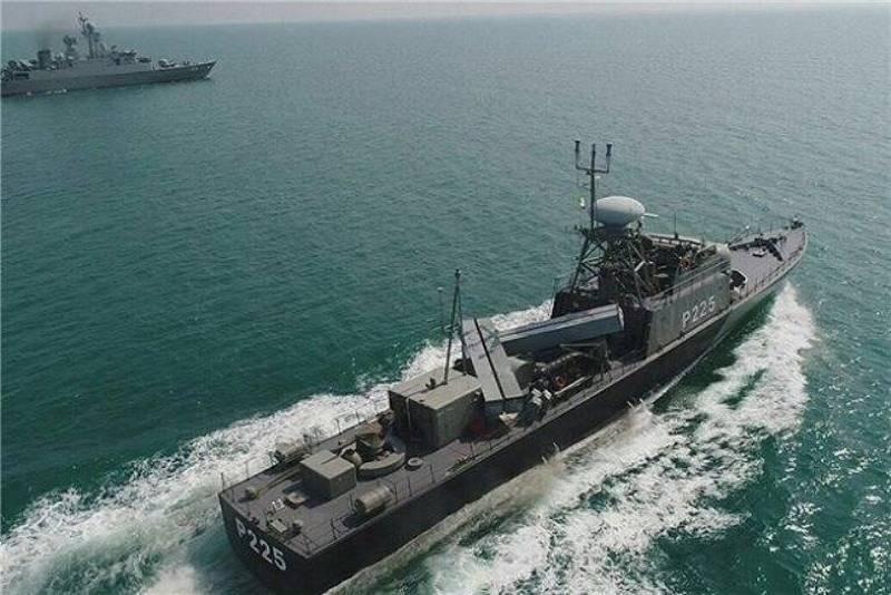 이란, 러시아 해군, 카스피해 정기 훈련 개최