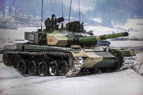 Petrolero chino: solo Armata T-99 podrá competir con Type2A14