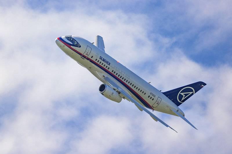 Le Trésor américain bloque Sukhoi Superjet 100 Iran