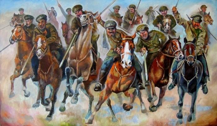 白の戦略騎兵。 Mamontovをリードして彼と戦ってください。 H. 4