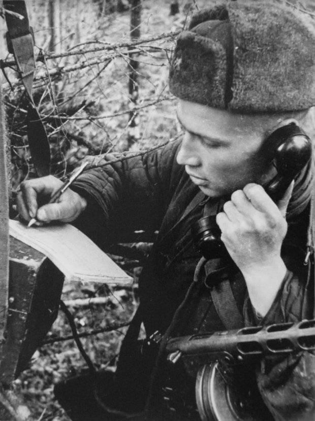 Le service cryptographique de l'Union soviétique. Confrontation avec les Allemands. Partie de 7