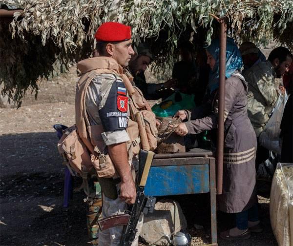 Военная полиция России вошла в сирийский Манбидж