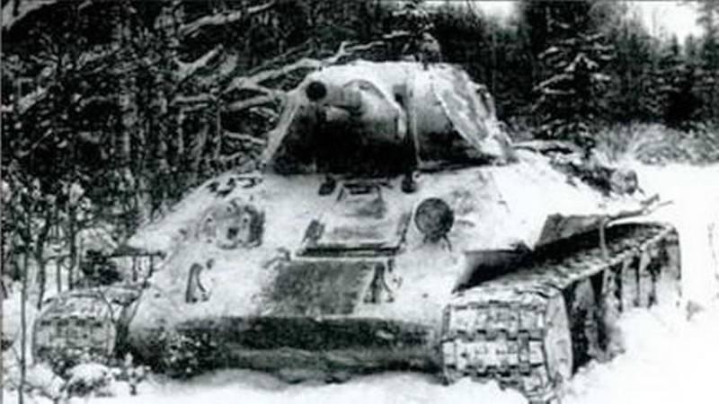 Оборону держали двое. Подвиг советских танкистов