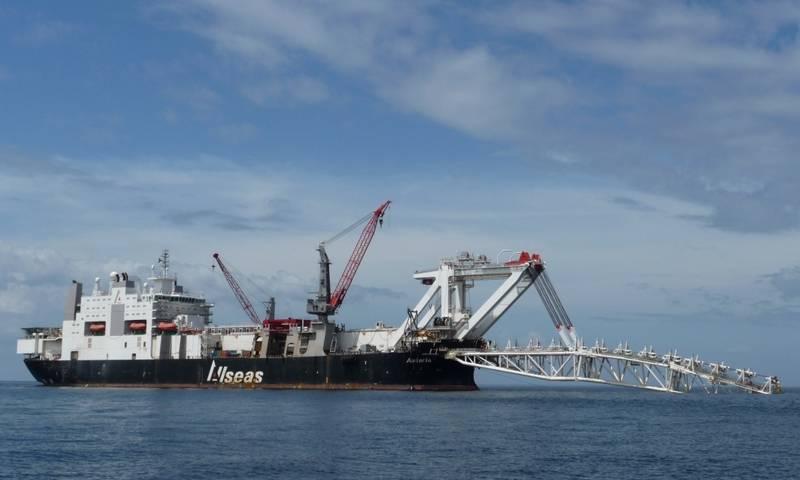 """미국, """"Nord Stream-2""""빌딩 회사에 제재 준비"""