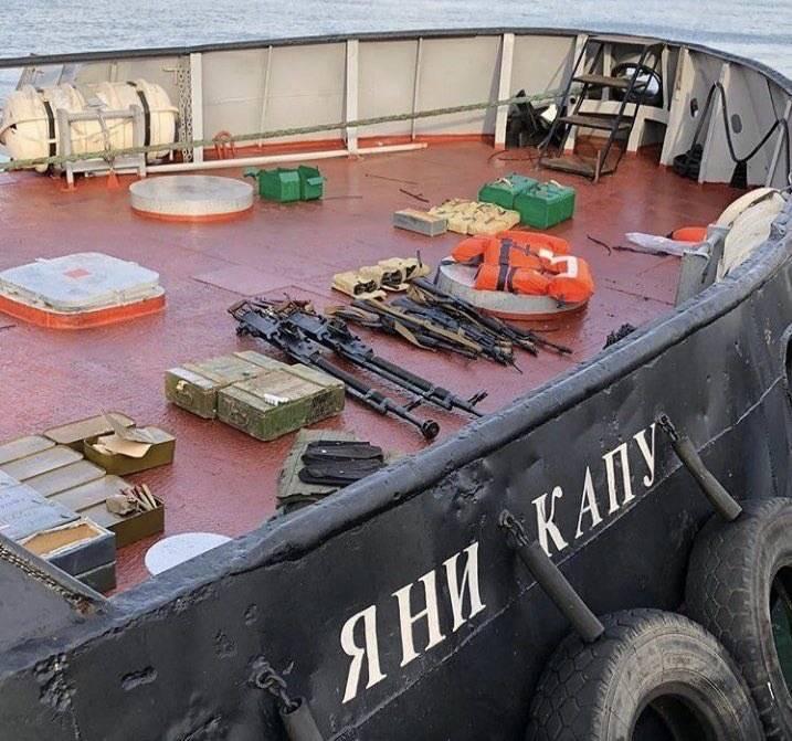 우크라이나 일반 : 해군은 케르 치 해협의 통과에 대한 비디오 녹화가 필요하다.